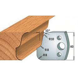 Комплекты ножей и ограничителей серии 690/691 #059 CMT Ножи и ограничители для фрез 40 мм Ножи