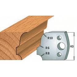 Комплекты ножей и ограничителей серии 690/691 #064 CMT Ножи и ограничители для фрез 40 мм Ножи