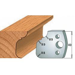 Комплекты ножей и ограничителей серии 690/691 #068 CMT Ножи и ограничители для фрез 40 мм Ножи