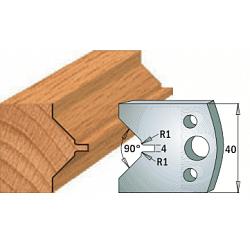 Комплекты ножей и ограничителей серии 690/691 #072 CMT Ножи и ограничители для фрез 40 мм Ножи