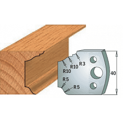 Комплекты ножей и ограничителей серии 690/691 #079 CMT Ножи и ограничители для фрез 40 мм Ножи