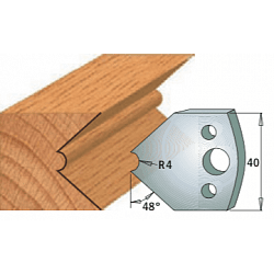 Комплекты ножей и ограничителей серии 690/691 #080 CMT Ножи и ограничители для фрез 40 мм Ножи