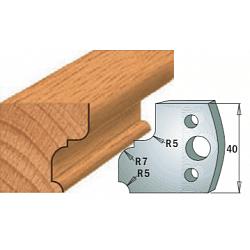 Комплекты ножей и ограничителей серии 690/691 #082 CMT Ножи и ограничители для фрез 40 мм Ножи