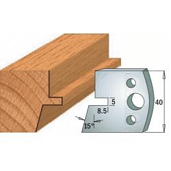 Комплекты ножей и ограничителей серии 690/691 #085 CMT Ножи и ограничители для фрез 40 мм Ножи