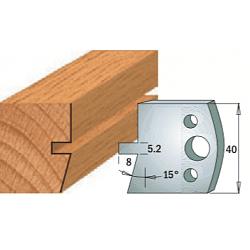 Комплекты ножей и ограничителей серии 690/691 #086 CMT Ножи и ограничители для фрез 40 мм Ножи