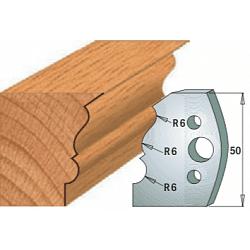 Комплекты ножей и ограничителей серии 690/691 #509 CMT Ножи и ограничители для фрез 50 мм Ножи